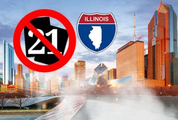 ETATS-UNIS : Le Sénat de L'Illinois veut interdire l'e-cigarette aux moins de 21 ans.