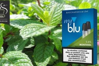 סקירה / בדיקה: Menthol (טווח meblu) על ידי blu