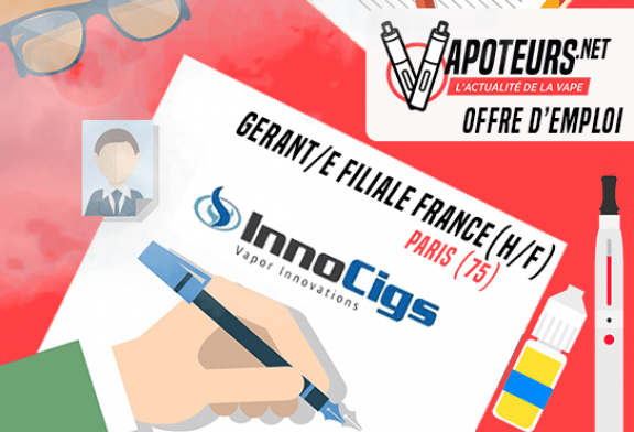 JOB OFFER: Managing Partner France (H / F) - Innocigs - Paris (75)