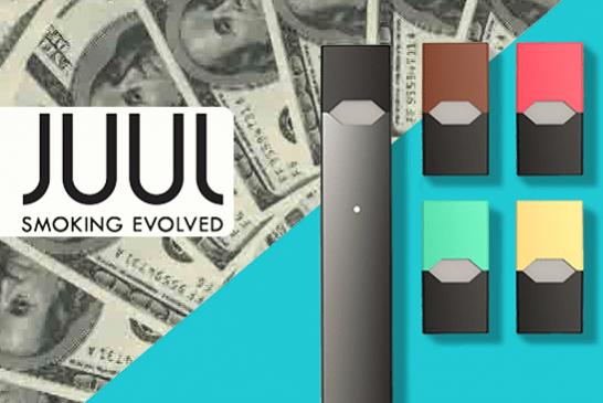 """EE.UU .: empresa de cigarrillos electrónicos """"Juul Labs"""" valorada en 10 ¡Miles de millones de dólares!"""