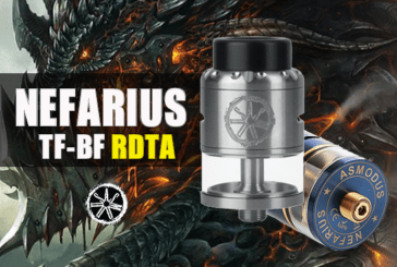 INFO BATCH : Nefarius TF-BF RDTA 4ml (Asmodus)