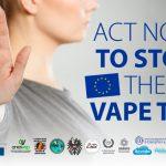 EUROPE : Une pétition pour dire «NON» à une taxe sur l'e-cigarette !