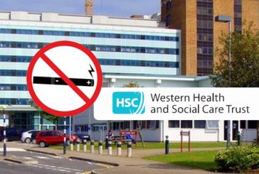ΒΟΡΕΙΑ ΙΡΛΑΝΔΙΑ: Χρήση ηλεκτρονικών τσιγάρων απαγορευμένων κοντά σε νοσοκομεία