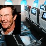קנדה: מחלוקת על דניס Quaid שהשתמש הסיגריה האלקטרונית שלו על מטוס.
