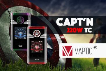 INFO BATCH : Capt'n 220W TC (Vaptio)