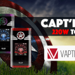 INFO BATCH : Capt'n 220W TC (Vaptio)