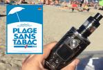 FRANCE : Après le tabac, l'e-cigarette de plus en plus interdite sur les plages.