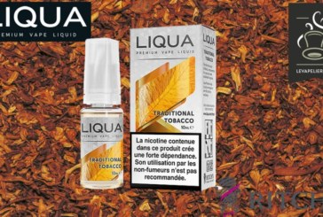 REVIEW / TEST: Traditional Tobacco (Elements Range) por Liqua