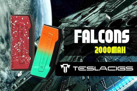 INFO BATCH : Falcons 2000 mAh (Teslacigs)