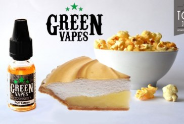 REVUE / TEST : Pop Citron (Gamme Classique) par Green Vapes