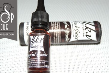 REVUE / בדיקה: מיץ שחור (טווחי NKV צבעים) על ידי NKV e-juices
