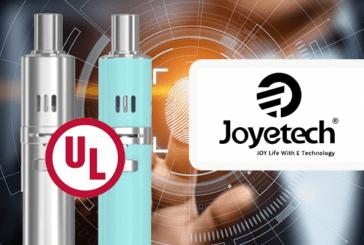 TECHNOLOGIE : Joyetech, premier fabricant d'e-cigarette à obtenir la certification UL 8139.
