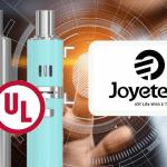 טכנולוגיה: Joyetech, הראשון e- סיגריה ליצרן להשיג UL 8139 הסמכה.