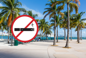 """ארה""""ב: העיר של מיאמי אוסרת על שימוש בסיגריות אלקטרוניות במקומות ציבוריים."""