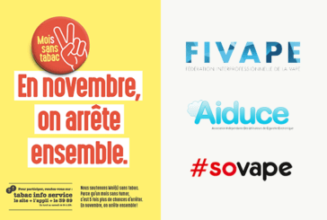 COMMUNIQUE: The FIVAPE is partner of the Self (s) without tobacco!