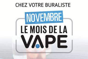 FRANCE : Le Mois de la Vape, un véritable engagement des buralistes !