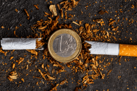 TOBACCO: The next increase is scheduled for March 2019.