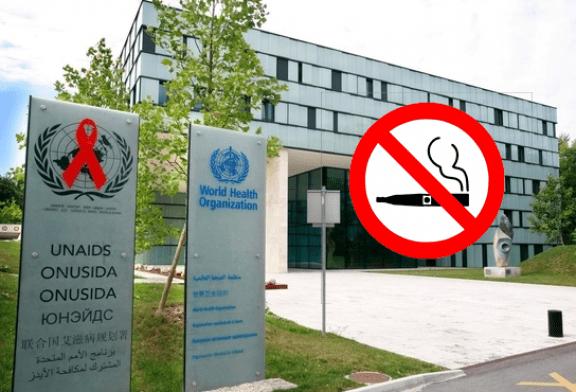 SANTE : L'OMS critiquée pour son manque de soutien à l'e-cigarette et aux alternatives