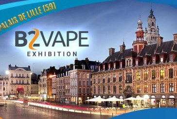 B2Vape Exhibition – Lille (59) – FRANCE