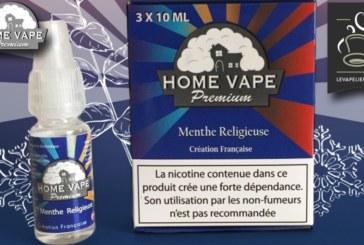 REVUE / TEST : Menthe Religieuse par Home Vape