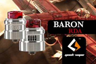 INFO BATCH : Baron RDA (Geekvape)