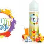 REVUE / TEST : Ice T Pêche (Gamme Fruit Style) par e-Chef