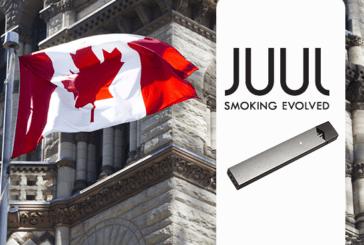 קנדה: Juul Labs יצרנית סיגריות אלקטרונית להציע 3% תרמילי ניקוטין.