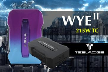 INFO BATCH : WYE II 215W TC (Teslacigs)