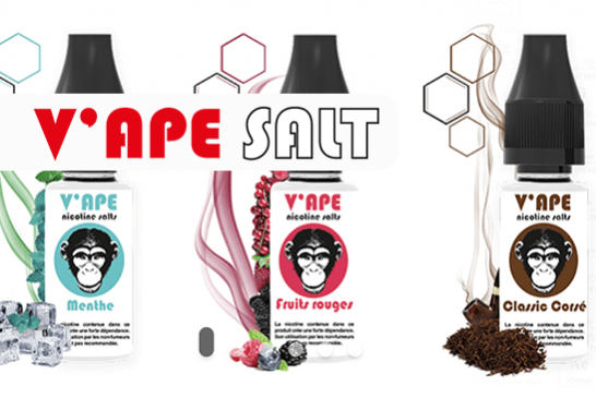 TALK E-JUICE: V'ape, e-liquids with nicotine salts without benzoic acid