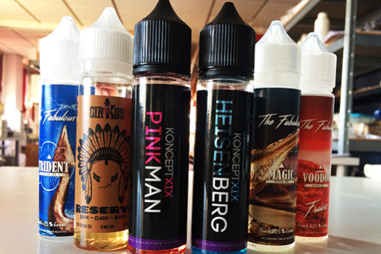 LET'S TALK E-JUICE:VNUMX ml小瓶过度膨胀