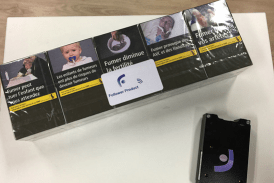 FRANCE: Calumet, a smart tag to fight cigarette theft