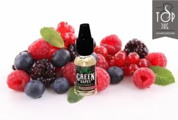 REVUE / TEST : Fruits Rouges (Gamme Classique) par Green Vapes