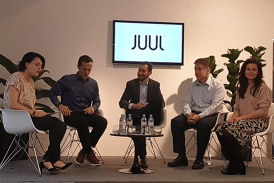 EXCLUSIVE: Official launch of the Juul e-cigarette in France!
