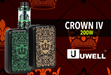 INFO BATCH : Crown IV 200W TC (Uwell)
