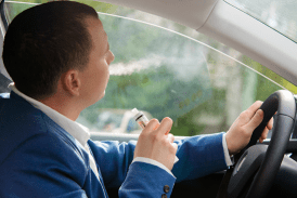 BELGIUM: The Flemish Parliament prohibits smoking and driving with children on board.