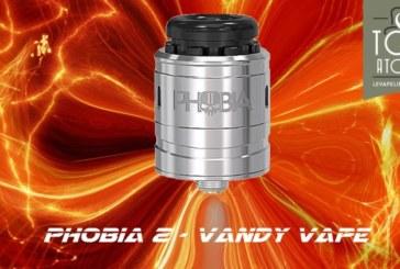 REVIEW / TEST: Phobia V2 RDA door Vandy Vape