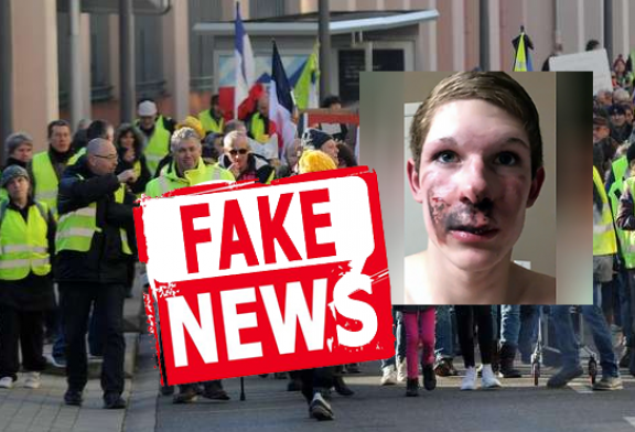 """SOCIETY: The """"yellow vests"""" and the e-cigarette are found in a fake news."""