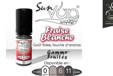 סקירה / בדיקה: תות שדה לבן (טווח Sunvap) על ידי Myvap