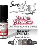 REVUE / TEST : Fraise Blanche (Gamme Sunvap) par Myvap