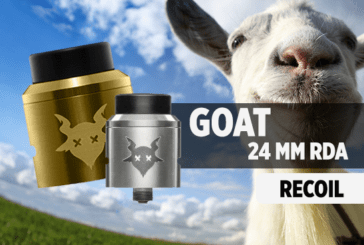 מידע נוסף: Goat 24mm RDA (Recoil)