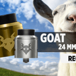INFO BATCH : Goat 24mm RDA (Recoil)