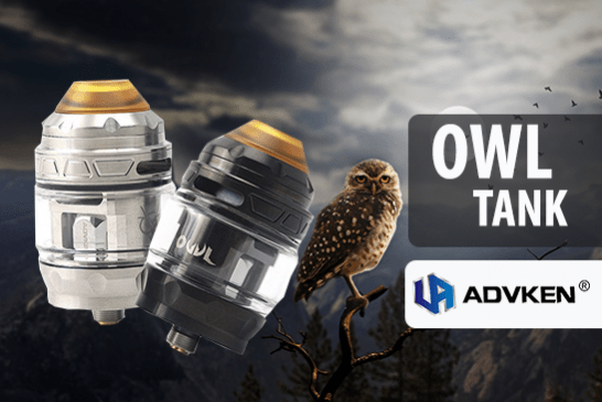 INFO BATCH : Owl Tank 4ml (Advken)