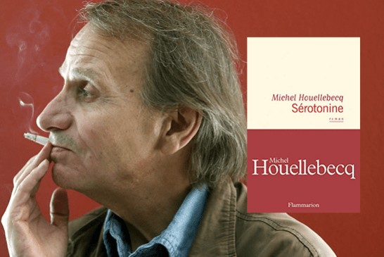 """CULTURE: In """"Serotonin"""", Houellebecq talks about nicotine as a """"perfect, simple and hard drug""""."""