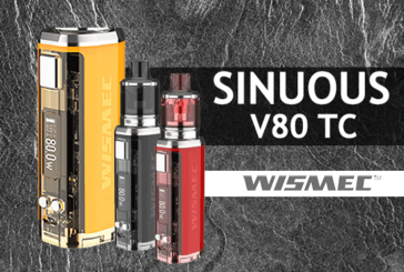 INFO BATCH : Sinuous V80 TC (Wismec)