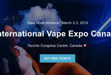 (ANNULE) Vape North America – Toronto (CANADA)