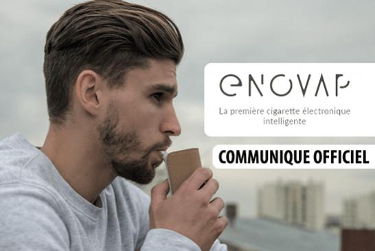 COMMUNIQUE : Enovap, la première e-cigarette pour se libérer  du tabac et de la nicotine