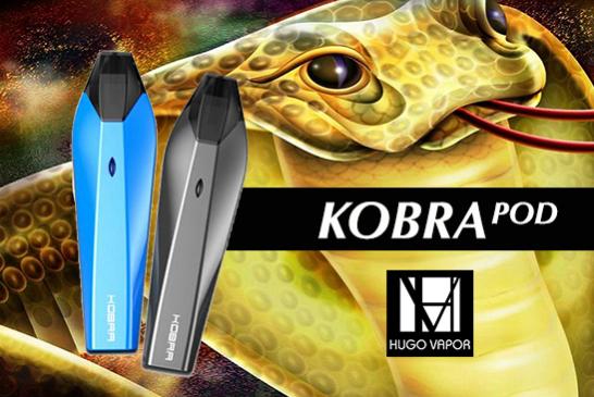 INFO BATCH : Kobra Pod 500mAh (Hugo Vapor)