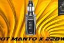 REVUE / TEST : Kit Manto X 228W par Rincoe