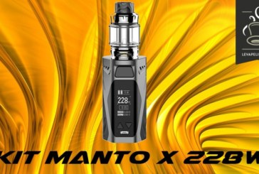 REVUE / TEST : Kit Manto X 228W par Rincoe