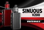 Информация о партии: Sinuous V200 (Wismec)